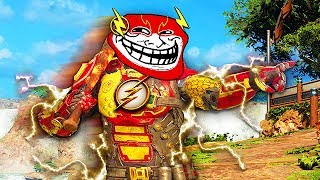THE FLASH TROLLING ON BLACK OPS 3! (Ninja Montage, Funny Moments, Defuses)