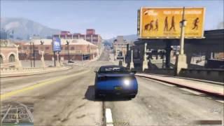 GTA 5  - Red Movie Car Scene/Bruce Willis
