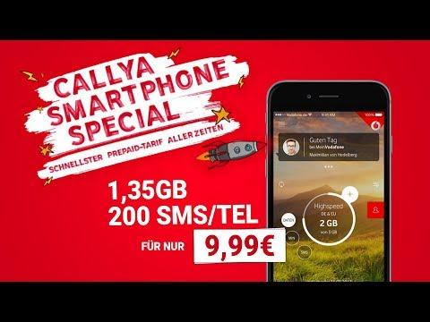 2 GB mit 200 Einheiten für NUR 9,99€ | Der Vodafone (Call-YA) Smartphone Spezial-Tarif (Tutorial)