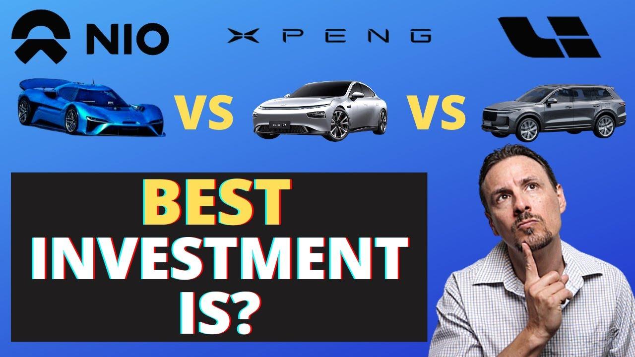 The Crazy Ride of NIO, Li Auto, and XPeng Stock