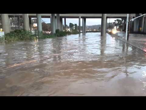 Sorrento valley flood