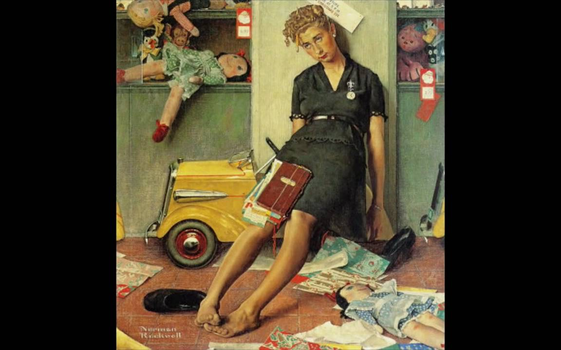 A Norman Rockwell Christmas - YouTube
