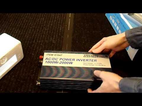 Twelve Inverter Review - Part 2 : 6 12V to 120V Power Inverters