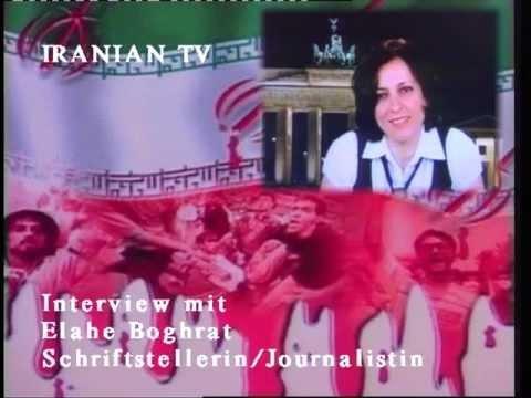 IRANIAN TV 23.10.2011 Interview mit.Frau Elham Boghrat u. Nasrin  Bassiri