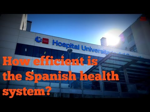 Living in Spain: How efficient the Spanish National Health System?