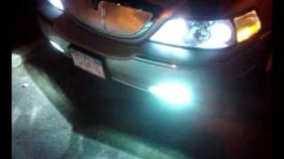 Lincoln Town Car Custom Grille w/ High Beam Socket mod to run as Low beam
