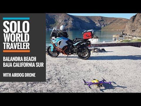 Balandra Beach, La Paz, Mexico with AirDog Drone