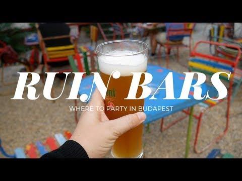 BEST RUIN BARS IN BUDAPEST