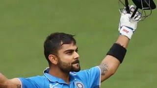 Virat Kohli 106, 25th ODI Hundred  India Vs Australia 4th ODI at Canberra
