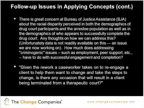 Critical Treatment Issues Webinar - Session 4 Follow Up Q&A