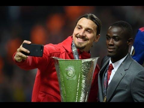 United player Eric Bailly Funny Instagram video with Ibrahimovic ,Fosu Mensah & Pogba