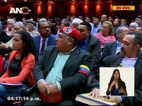 Asamblea Nacional Constituyente, sesión completa, 26 junio 2018
