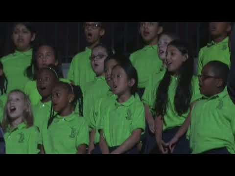 Benefield Elementary Performering Oh, Canada 11/3/17