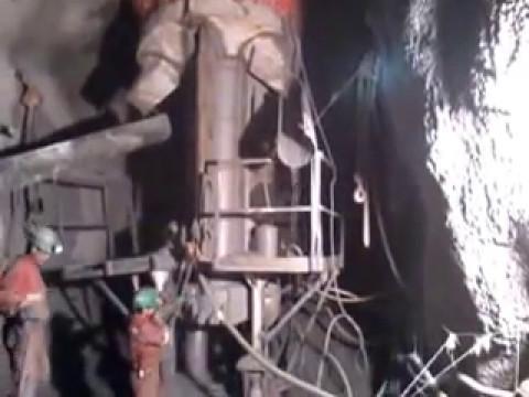 Maquina Blind Hole - Mina el Teniente Kala S.A.