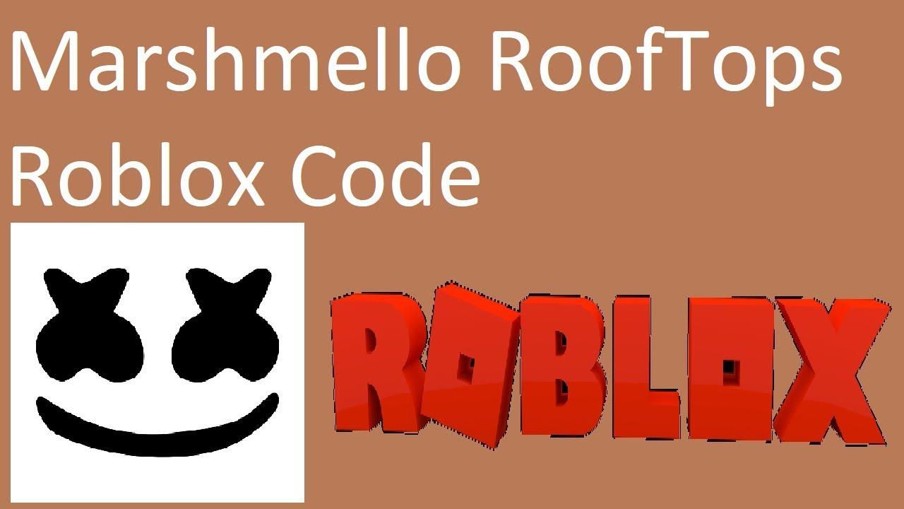 marshmello rooftops roblox id