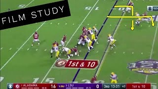 FILM STUDY: Alabama vs LSU, 2018