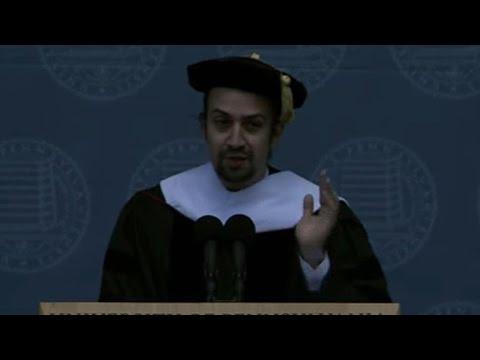 Lin-Manuel Miranda's full commencement address at the University Of Pennsylvania