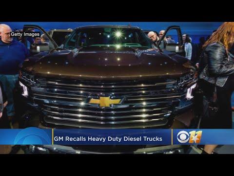 GM Recalls Heavy-Duty Diesel Trucks Due To Engine Block Heater Fires