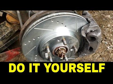 Mitsubishi Endeavor Front Brake Rotors Replacement