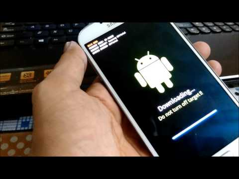 How to flash custom recovery on samung galaxy s4 i9500