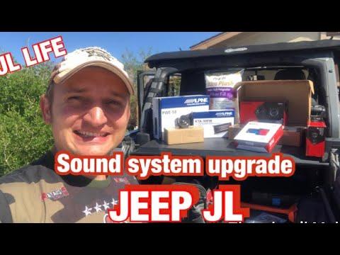 "jl-life-installing-alpine/-kicker-upgrades!-audio-upgrade-for-jeep-jl-rubicon-alpine-8""-sub-n-amp"