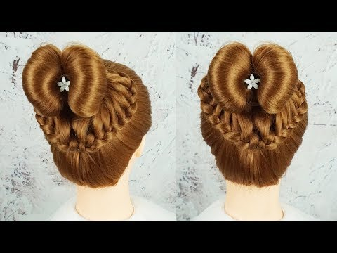 Easy Hairstyles On Wedding - Hairstyle For Wedding Or Party | Juda Hairstyle | Bridal Hairstyle thumbnail