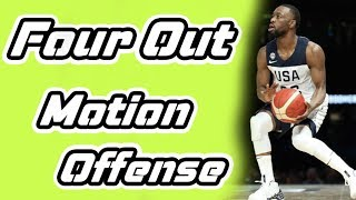 4 Out Basketball Motion Offense Plays