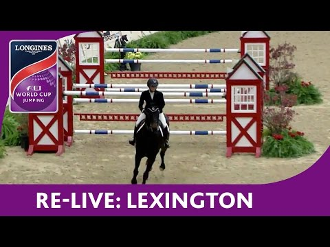 Re-Live - NAL - Longines FEI World Cup™ Jumping - Lexington - Welcome Speed Stake
