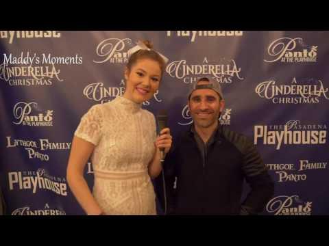 Ben Giroux Interview at the Pasadena Playhouse for A Cinderella Christmas!