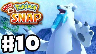 New Pokemon Snap - Gameplay Walkthrough Part 10 - Shiver Snowfields! (Nintendo Switch)