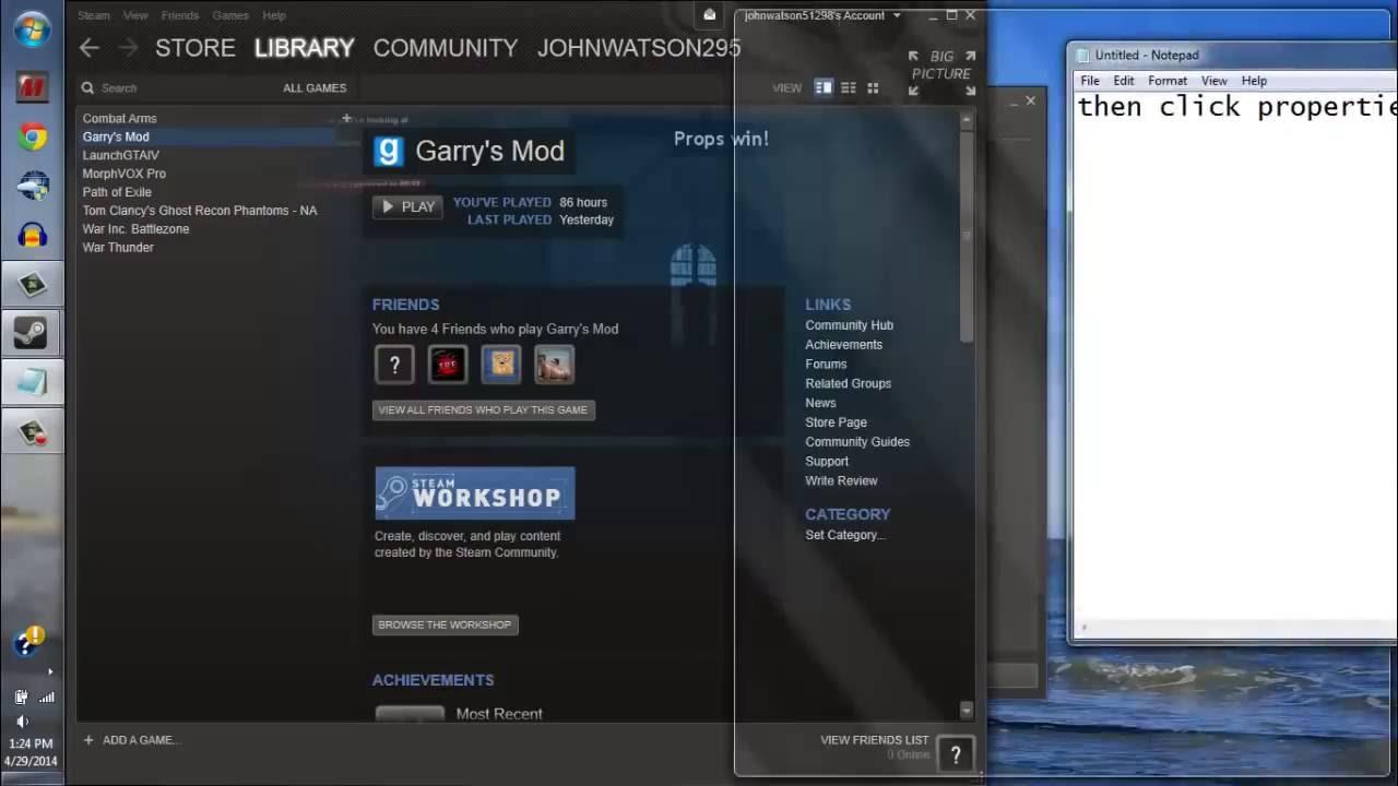 how to fix/set screen resolution-steam