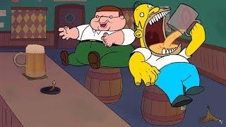 Жесткий кроссовер: Гриффины и Симпсоны