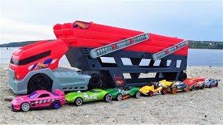 видео про машинки крутые тачки хот вилс игрушки для мальчиков мультики для детей