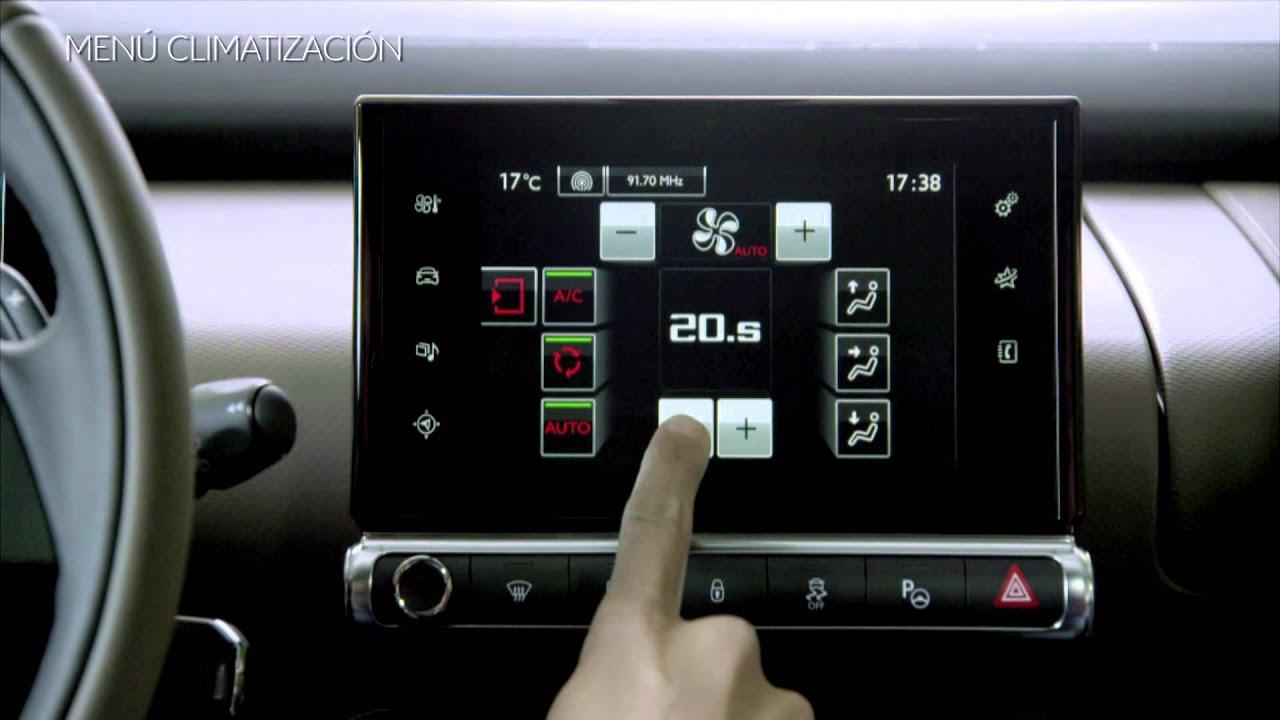Citroen C4 Cactus >> Citroën - C4 Cactus - Pantalla Táctil - YouTube
