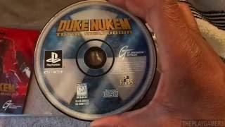 Retro Unboxing Duke Nukem: Total Meltdown