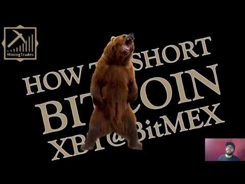 How to Short Bitcoin Futures $XBT LIVE! BitMEX UI Trade Execution Explained  | Jan 25th 2018