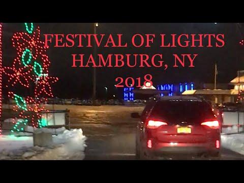 Part I: Festival Of Lights In Hamburg, NY - 1 MILLION LIGHTS!!