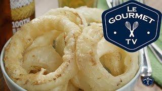 Tempura Onion Rings Recipe - Le Gourmet Tv