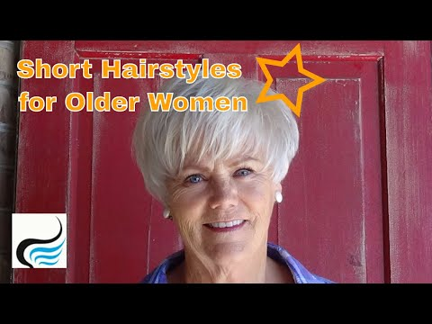 Short Haircut for Older Women