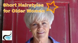Hairstyles For Women Over 60 - Older Women