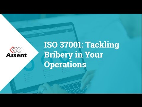 [Webinar] ISO 37001: Tackling Bribery in Your Operations