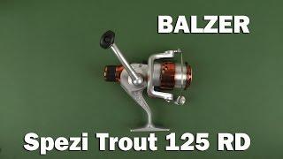 Демонстрация Balzer Spezi Trout 125RD