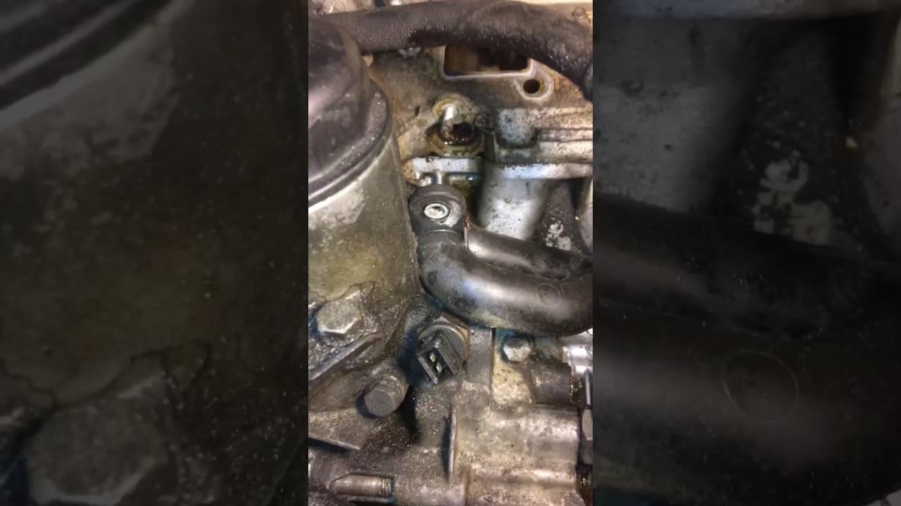medium resolution of bmw e46 coolant leak under intake manifold part 3