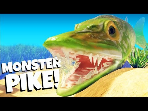 Monster Pike Eats Everything! - Feed and Grow Fish Gameplay - Feed and Grow Update