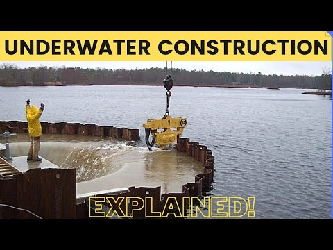 How Underwater Structures Are Built? Cofferdam Explained!