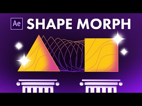 Quick & Easy After Effects Shape Morph Tutorial