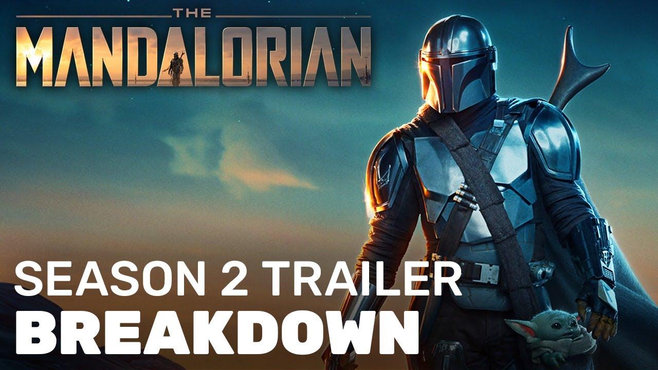 The Mandalorian Season 2 Trailer Breakdown Who Is The Hooded Figure Youtube