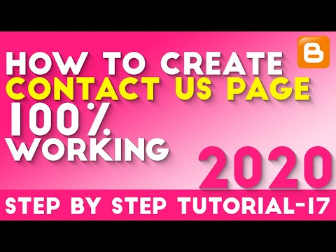 How To Create Contact Us Page In Blogger Use Formsite Hindi/Urdu Tutorial-17 [desimesikho] 2018