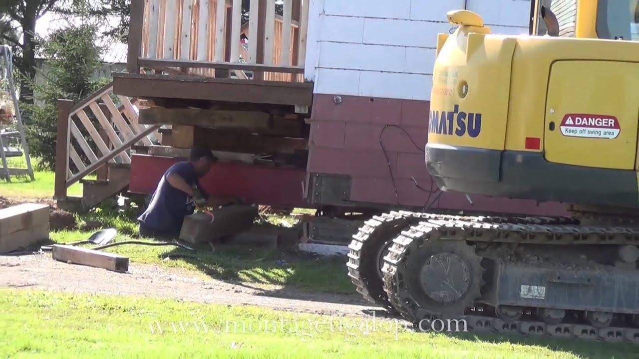Comment lever une maison pour faire un sous sol