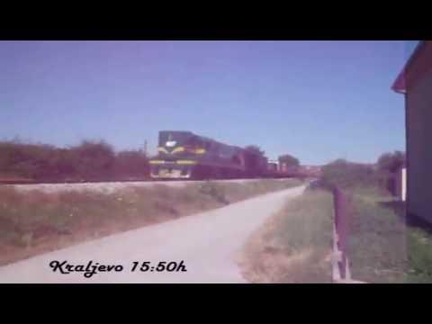 Teretni voz na celu sa 661-249 iz Kraljeva za Brvenik